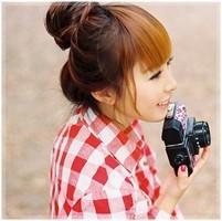 带照相机的女生头像 头像图片